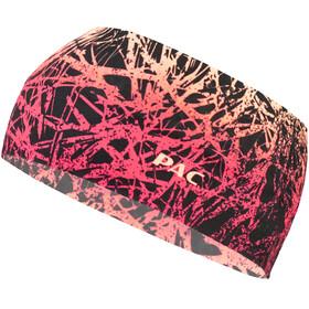 P.A.C. Headband Hoofdbedekking rood/zwart